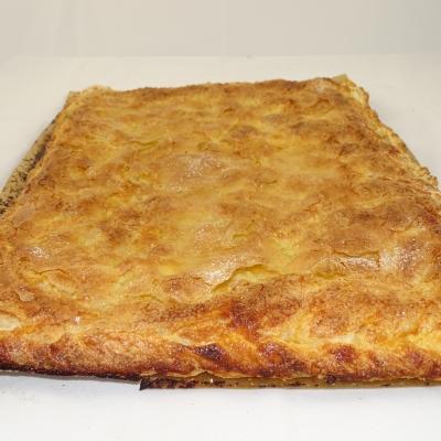 Empanada de manzana (hojaldre)