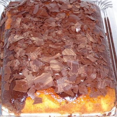 Marmolado de chocolate y caramelo